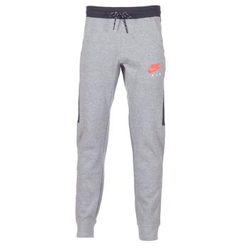 Textil Homem Calças de treino Nike AIR JOGGER FLEECE Cinza / Vermelho