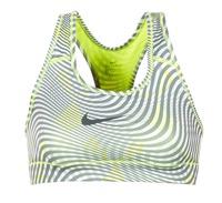 Textil Mulher Tops e soutiens de desporto Nike NIKE PRO CLASSIC BRA Amarelo / Cinza