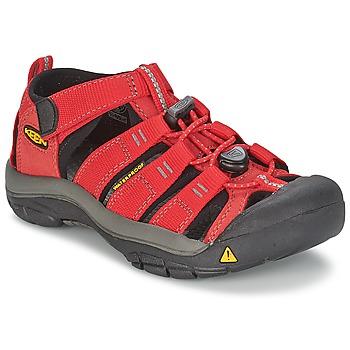 Sapatos Criança Sandálias desportivas Keen KIDS NEWPORT H2 Vermelho / Cinza