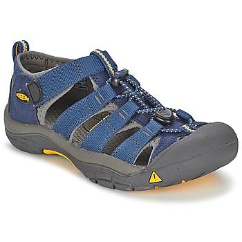 Sapatos Criança Sandálias desportivas Keen KIDS NEWPORT H2 Azul / Cinza