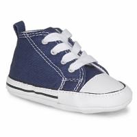 Sapatos Criança Pantufas bebé Converse FIRST STAR TOILE Marinho