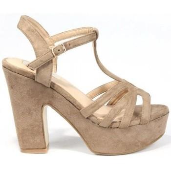 Sapatos Mulher Sandálias La Push 1037 Castanho