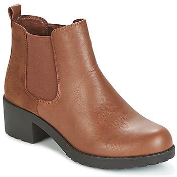 Sapatos Mulher Botins Moony Mood GLOVILA Camel