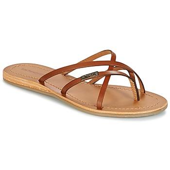 Sapatos Mulher Chinelos Les Tropéziennes par M Belarbi BIP Castanho