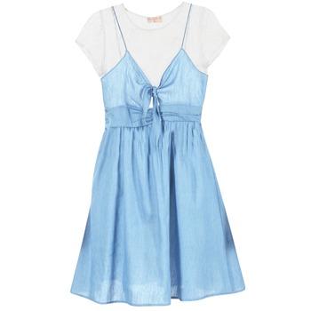 Textil Mulher Vestidos curtos Moony Mood GLAM Azul
