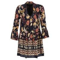 Textil Mulher Vestidos curtos Derhy DEGUSTATION Preto / Multicolor