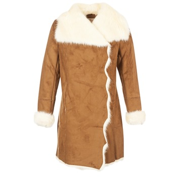 Textil Mulher Casacos Derhy RADEAU Camel