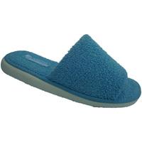 Sapatos Mulher Chinelos Andinas Abrir toe chinelo toalha no azul Andina azul