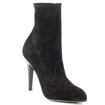 Sapatos Mulher Botins Michael Kors STRETCH LB Preto