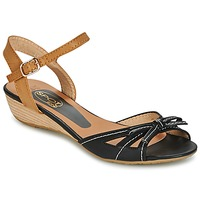 Sapatos Mulher Sandálias Spot on  Preto