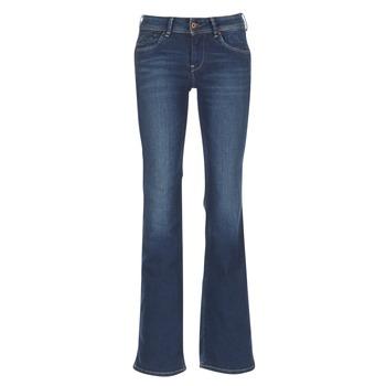 Textil Mulher Calças de ganga bootcut Pepe jeans PIMLICO Azul