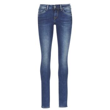 Textil Mulher Calças de ganga slim Pepe jeans SOHO Azul