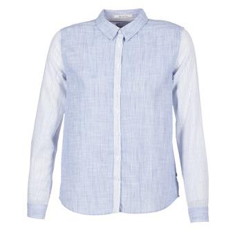 Textil Mulher camisas Pepe jeans CRIS Azul