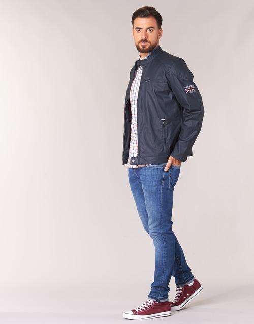 RACER  Pepe jeans  jaquetas  homem  marinho