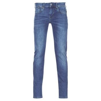 Textil Homem Calças de ganga slim Pepe jeans HATCH Azul