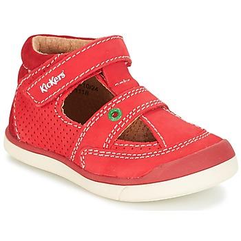 Sapatos Rapaz Sandálias Kickers GOODSPEED Vermelho