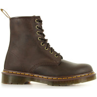 Sapatos Mulher Botas baixas Dr Martens 1460 Castanho