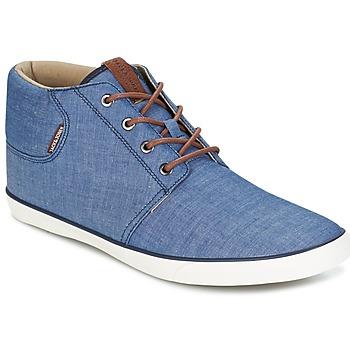 Sapatos Homem Sapatilhas de cano-alto Jack & Jones VERTIGO Marinho