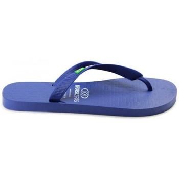 Sapatos Mulher Chinelos Brasileras CBCLANL1034-41 Azul