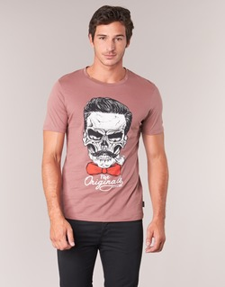 Textil Homem T-Shirt mangas curtas Jack & Jones CRIPTIC ORIGINALS Rosa