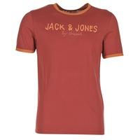 Textil Homem T-Shirt mangas curtas Jack & Jones RETRO ORIGINALS Vermelho