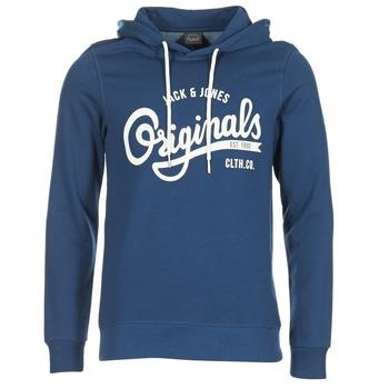 Textil Homem Sweats Jack & Jones HAWL ORIGINALS Azul