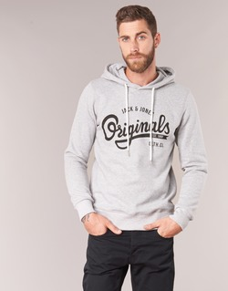 Textil Homem Sweats Jack & Jones HAWL ORIGINALS Cinza