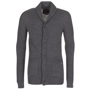 Textil Homem Casacos de malha Jack & Jones INSPECT ORIGINALS Cinza