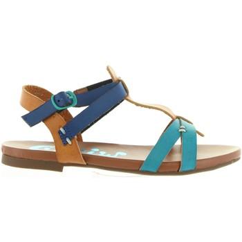 Sapatos Rapariga Sandálias Cheiw 45677 Azul