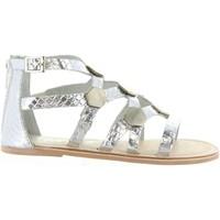 Sapatos Rapariga Sandálias Cheiw 45632 Plateado