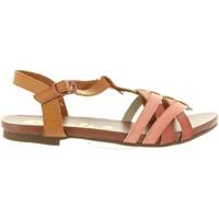 Sapatos Rapariga Sandálias Cheiw 45650 Rojo
