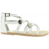 Sapatos Rapariga Sandálias Cheiw 45632 Blanco