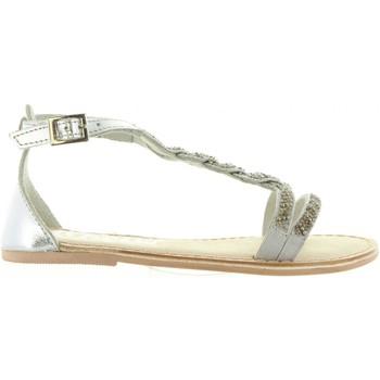 Sapatos Rapariga Sandálias Cheiw 45633 Plateado