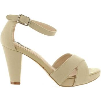 Sapatos Mulher Sandálias MTNG 53840 Beige