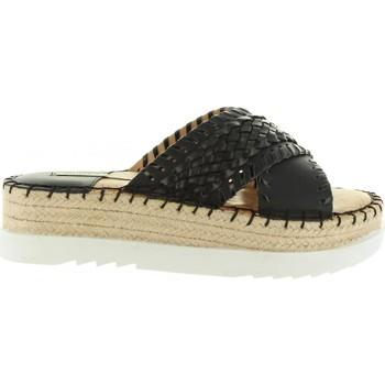 Sapatos Mulher Chinelos MTNG 53685 Negro