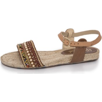Sapatos Mulher Sandálias Mtbali Alpargatas Sandálias- Artisan Low marrón