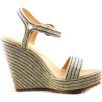 Sapatos Mulher Sandálias Mtbali Sandálias Tacão Compensado - YUTE beige