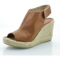 Sapatos Mulher Sandálias Mtbali Sandálias  Tacão Compensado - Lion marrón