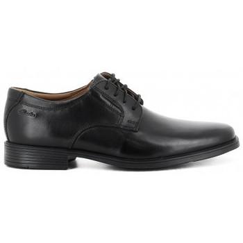Sapatos Homem Sapatos Clarks TILDEN PLAIN Noir