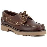 Sapatos Homem Sapato de vela Snipe 21201 marrón Marron