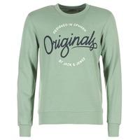Textil Homem Sweats Jack & Jones SWEEP ORIGINALS Verde