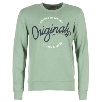 Textil Homem Sweats Jack & Jones SWEEP ORIGINALS Verde