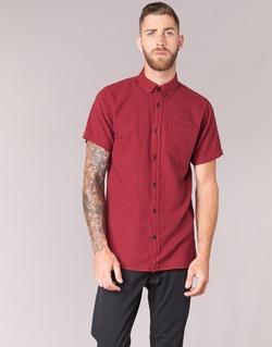 Textil Homem Camisas mangas curtas Jack & Jones JOHAN ORIGINALS Vermelho