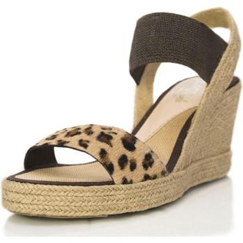 Sapatos Mulher Sandálias Mtbali Sandálias  Tacão Compensado - Seychelles marrón