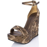 Sapatos Mulher Sandálias Mtbali Sandálias Tacão Compensado - Beverly Moka marrón