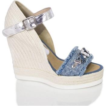 Sapatos Mulher Sandálias Mtbali Sandálias  Tacão Compensado - Malibu azul
