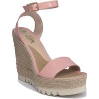 Sapatos Mulher Sandálias Mtbali Sandálias  Tacão Compensado - Santa Rosa rosa