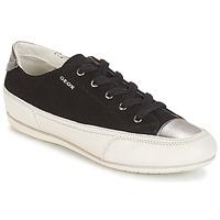 Sapatos Mulher Sapatilhas Geox D N.MOENA D - SCAM.STA+VIT.CER Preto