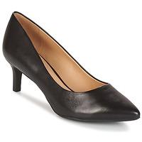 Sapatos Mulher Escarpim Geox D ELINA C - CAPRA NAPPATA Preto