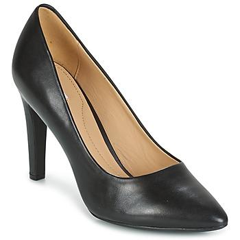 Sapatos Mulher Escarpim Geox D CAROLINE C - NAPPA Preto